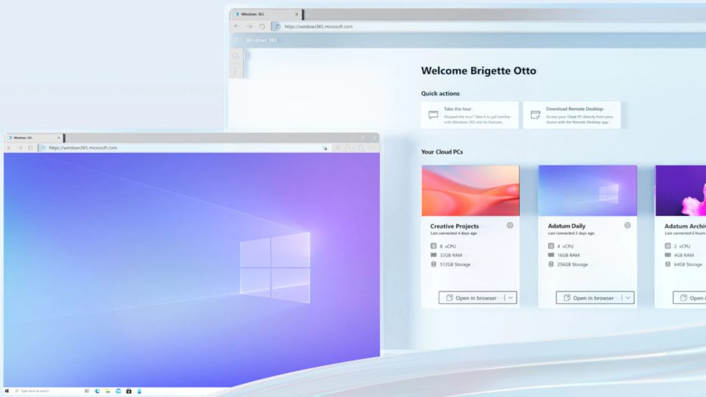 Windows 11 PC from the Cloud: Microsoft Introduces Windows 365