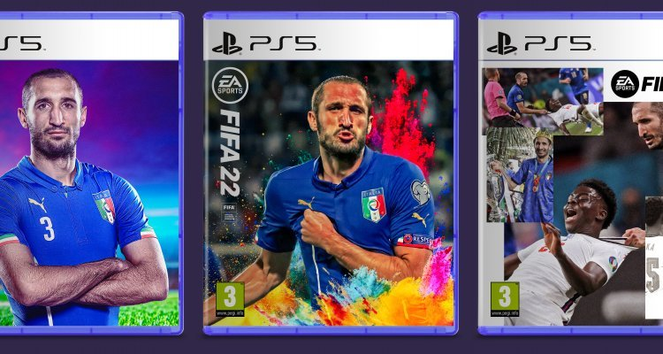 FIFA 22, Sielini on the cover? Vote for the cover you like, E.A. Sports - Multiplayer.it