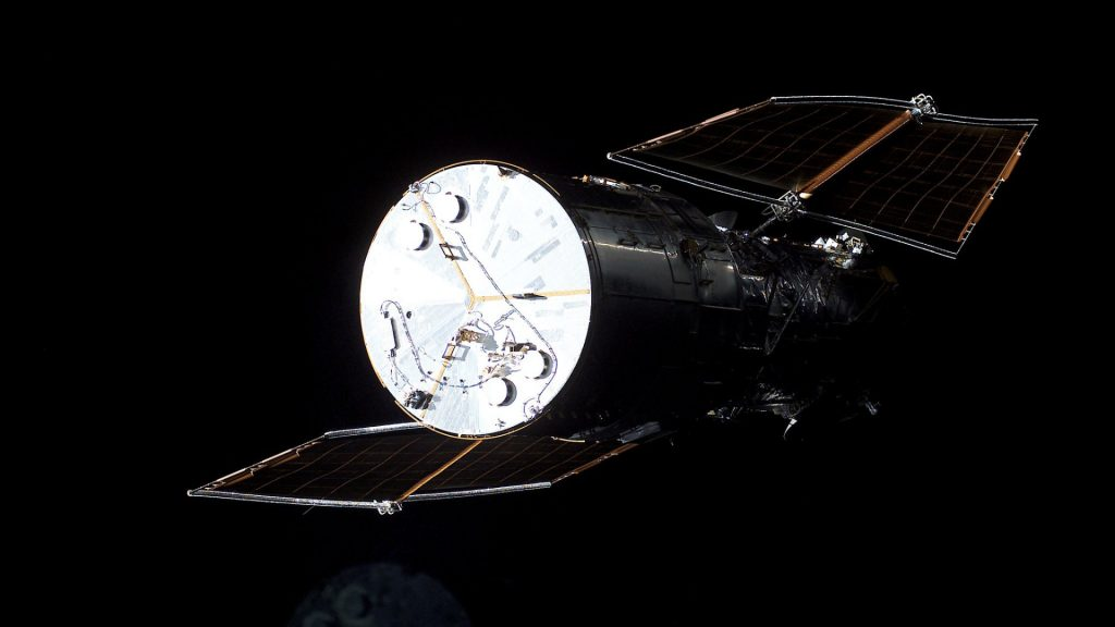 NASA was able to switch to the backup computer of the Hubble telescope
