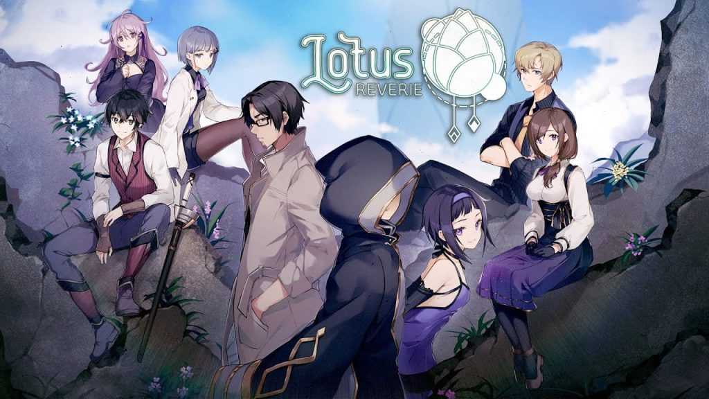 Lotus Reverie First Nexus, the new visual novel released on the Nintendo Switch!