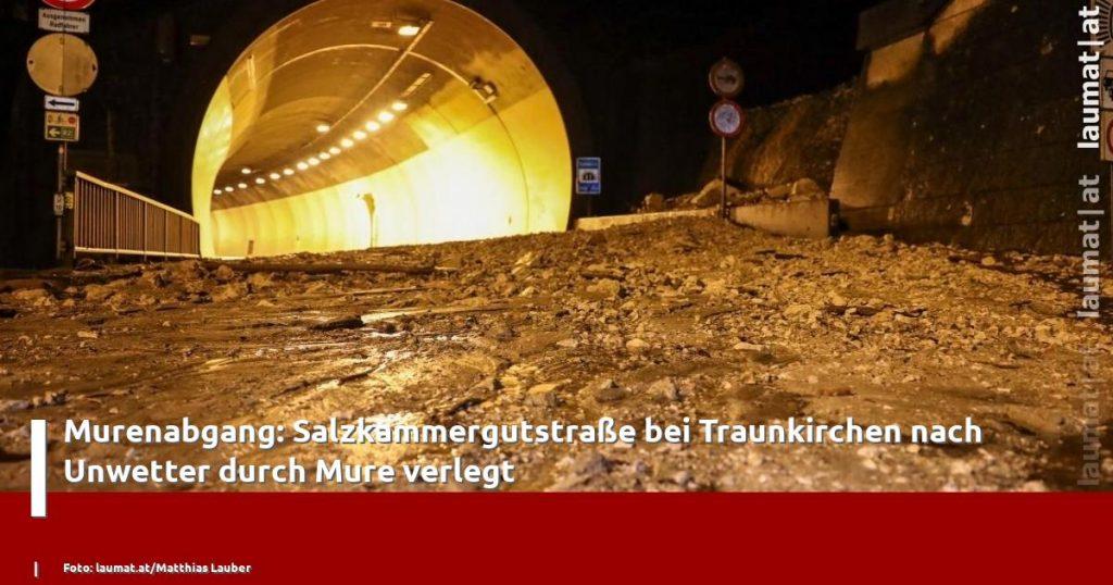 Landslide evacuation: Displaced by landslides after Hurricane Salskamerkutstras near Trankirchen