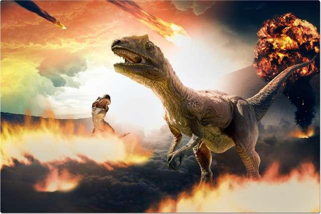 """The asteroid that killed the dinosaurs made the tsunami so powerful that it left """"giant waves"""" at sea level"""