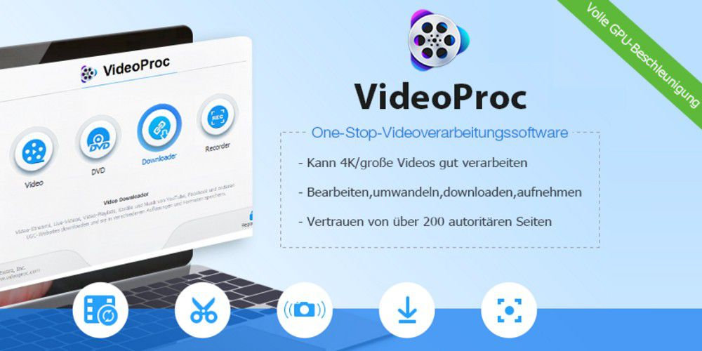 Give it up: Download and convert 4K & HD videos for free with VideoProc