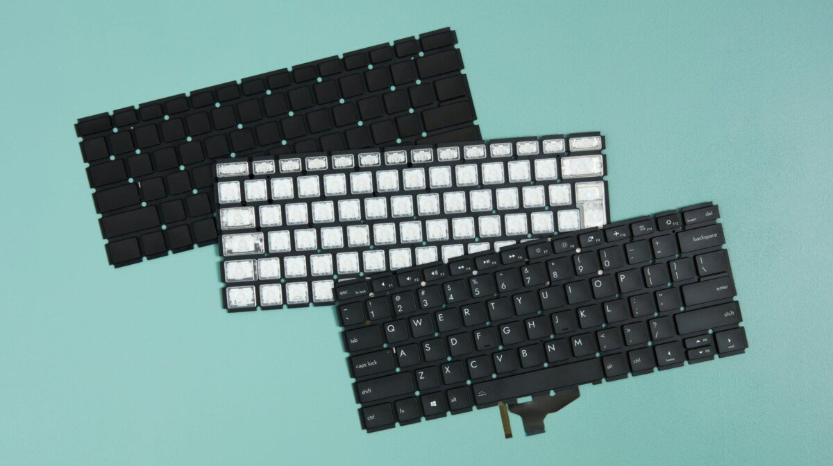 You can request the AZERTY keyboard