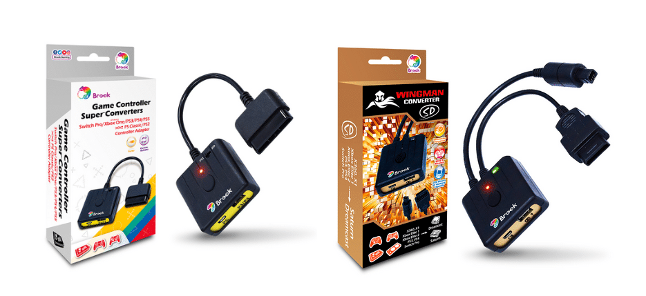The Brook Retro Controller Converter Series is now available