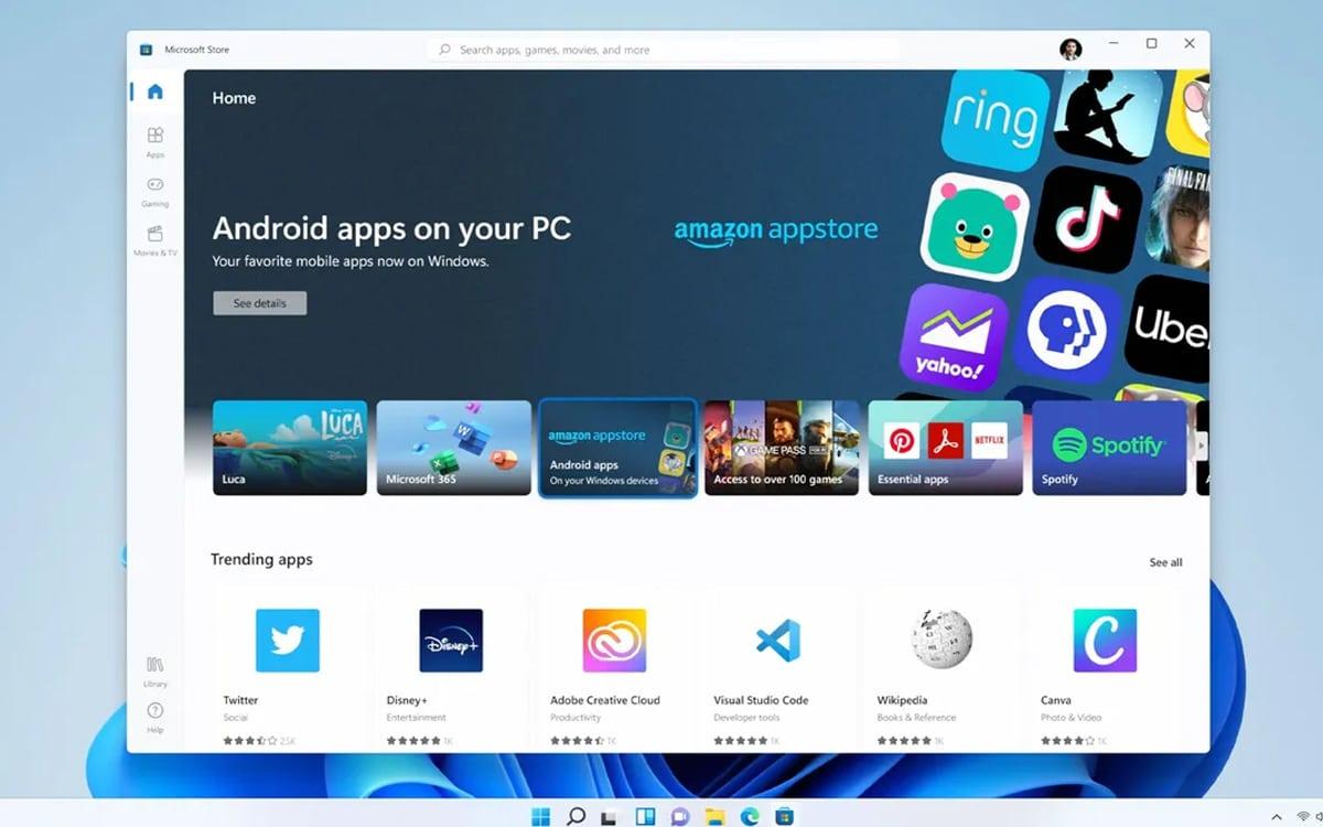 Windows 11 Processor Android