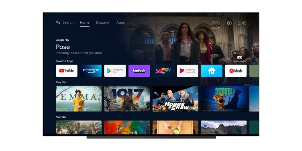 Android TV is improving with the arrival of the new beta of Android 12