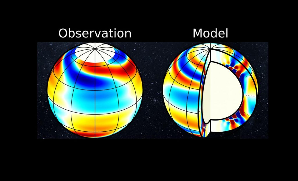 """Astronomical """"deep"""" vibrations of the sun were discovered"""