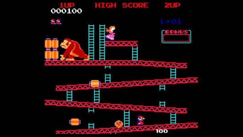 Figure 1: Nintendo: Donkey is never Mario's enemy