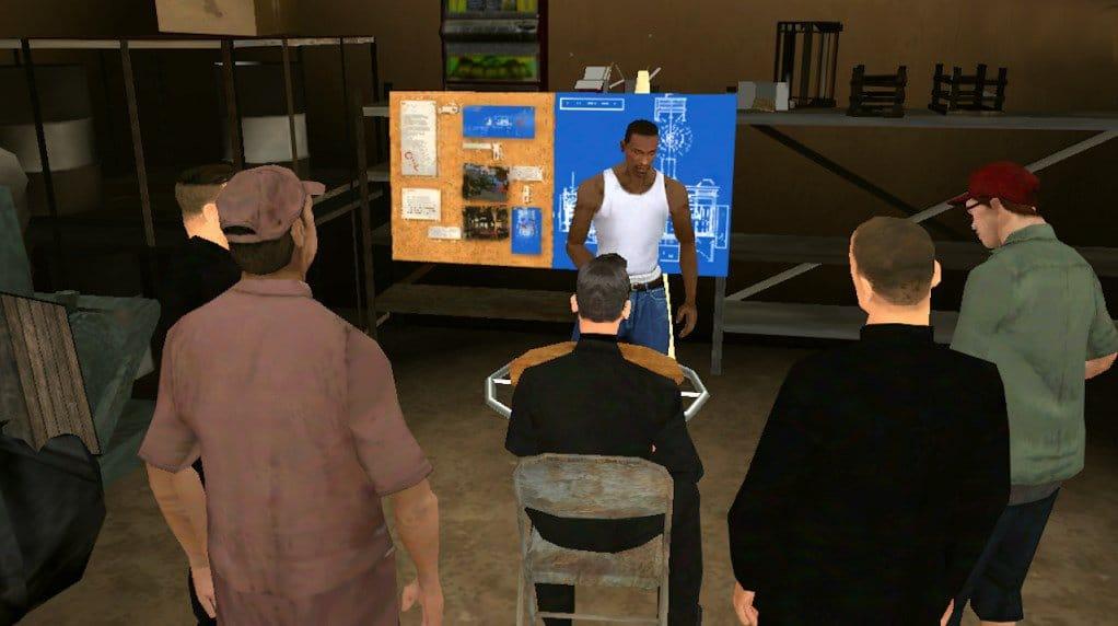Download GTA San Andreas apk obb