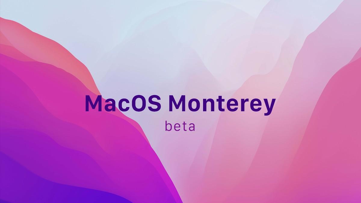 macos monterey beta title