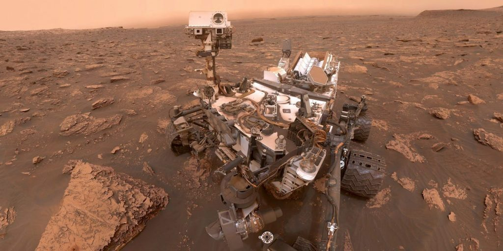 NASA's diligent rover operates the first automated flight around Mars