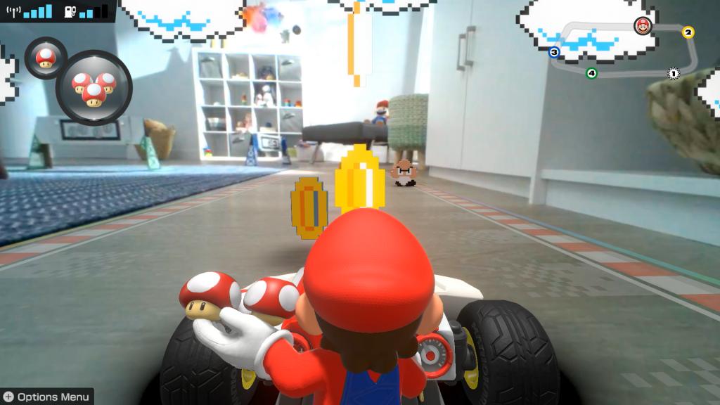 Mario kart live switch