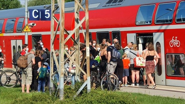 Problems with the Deutsche Ban: Many regional trains in Berlin and Brandenburg are currently canceled - Berlin