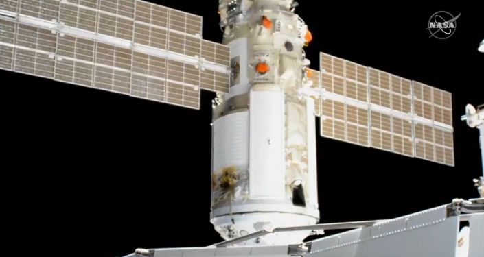 Russia successfully integrates new Nauka science block into ISS-Video