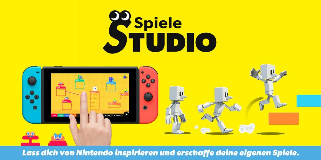 Sprint with the B button - Download the new Game Studio mechanism இணைப்பு Nintendo Link
