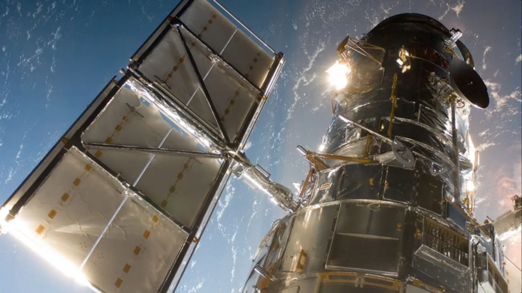 The Hubble Space Telescope with backup hardware is back in operation