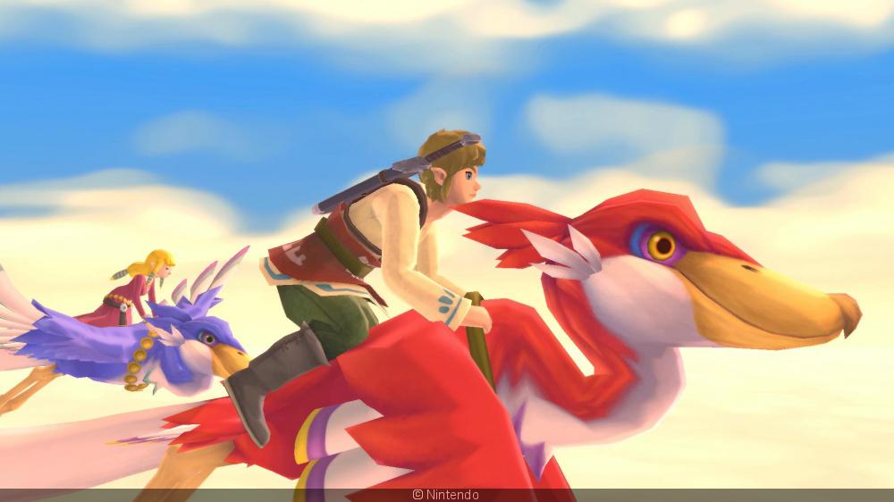 The Legend of Zelda: Skyward Wall HD, Le Remake Sur Nintendo Switch SD