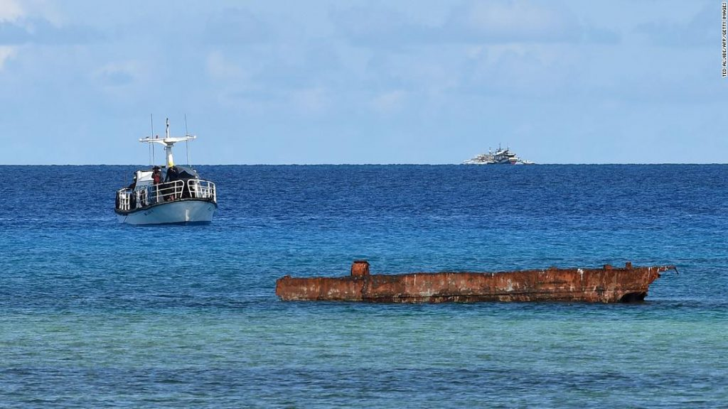 The Philippines is investigating a report by China that dumped sewage into the sea