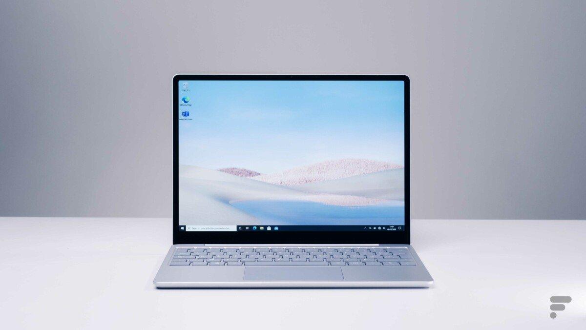 Le Microsoft Surface Laptop Co