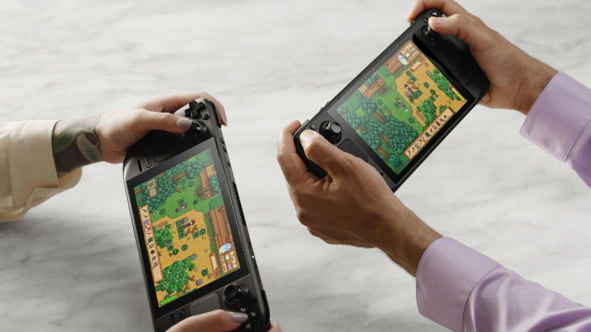 La Console Portable Steam Tech