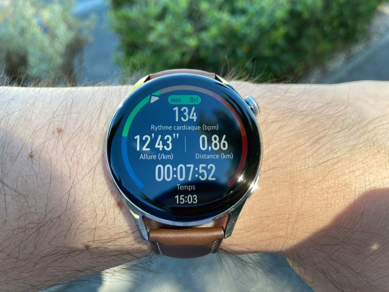 Which was the first watch to be integrated under HarmonyOS?