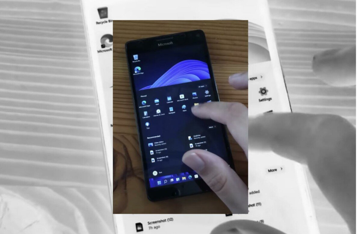 Windows 11 ARM on Lumia 950 XL
