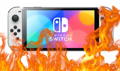 OLED Switch: Oops, there are risks of screen burns, Nintendo takes stock