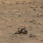 The Curiosity rover discovered a small stone arch on Mars