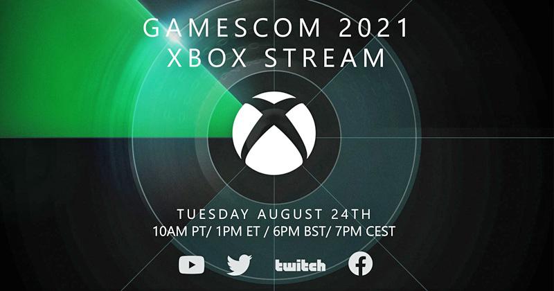 Der Gamescom 2021 Xbox Stream steigt bereits am 24. August 2021 (Abbildung: Microsoft)