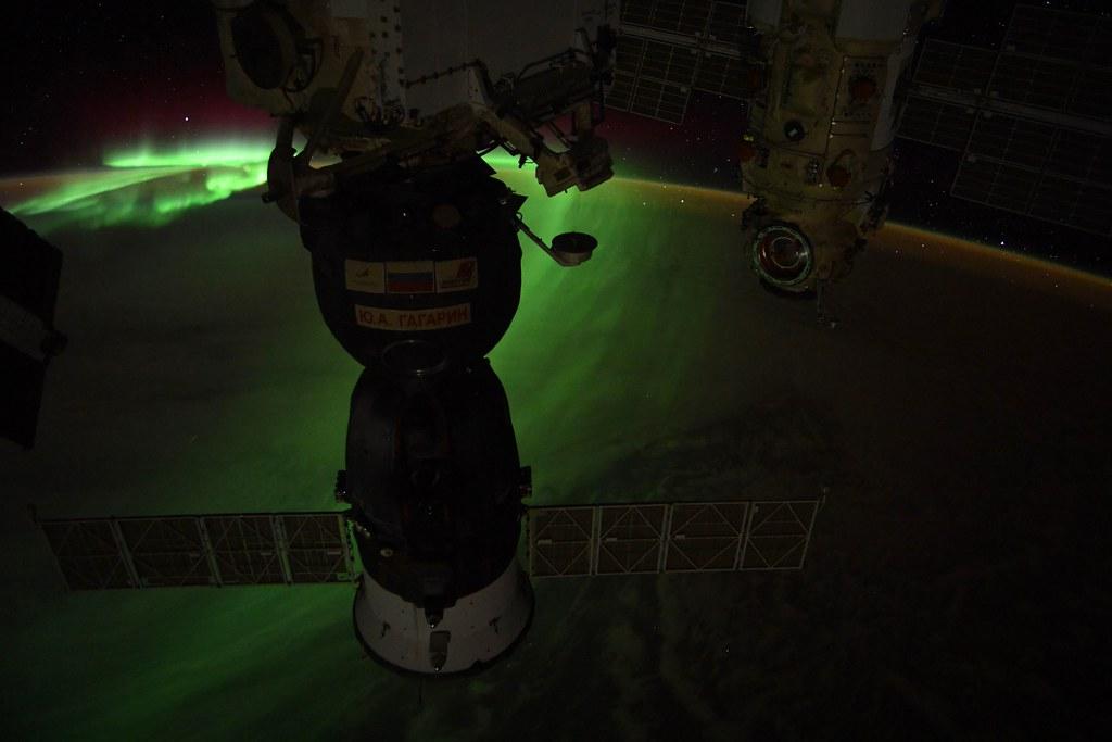 Dark Soyuz on Aurora