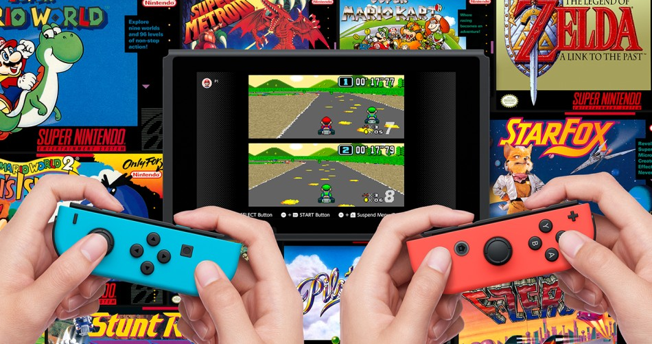 Nintendo brings you back the Nintendo Switch online • JPGAMES.DE
