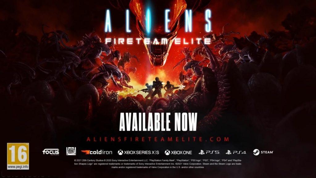 Aliens Fireteam Elite-Ter Survival-Coupe-Shooter In Launch-Trailer
