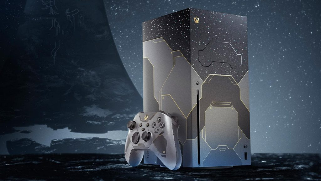 Xbox Series X Collector Hollow Infinite is now available for pre-order!  |  Xbox One