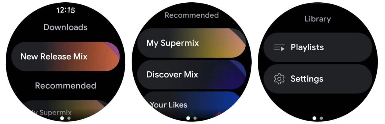 Use YouTube Music OS1
