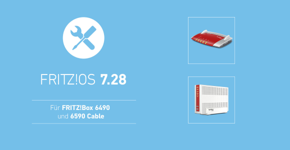AVM Releases FRITZ!  OS 7.28 for FRITZ!  Box 6490 cable with error corrections