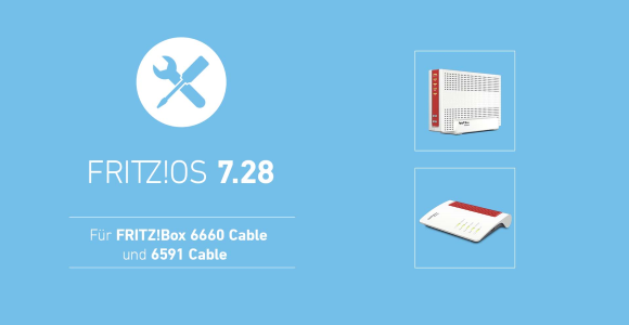 AVM Releases FRITZ!  OS 7.28 for FRITZ!  Box 6591 cable with error corrections