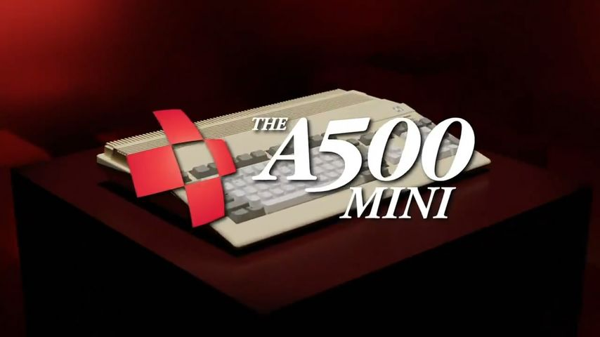 Amiga 500 Mini: Concentration of Retrokimming for 2022 - News