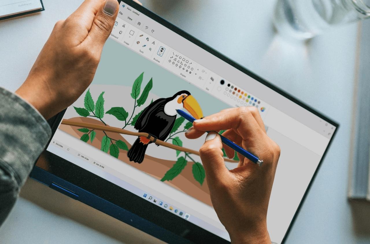Paint in new design