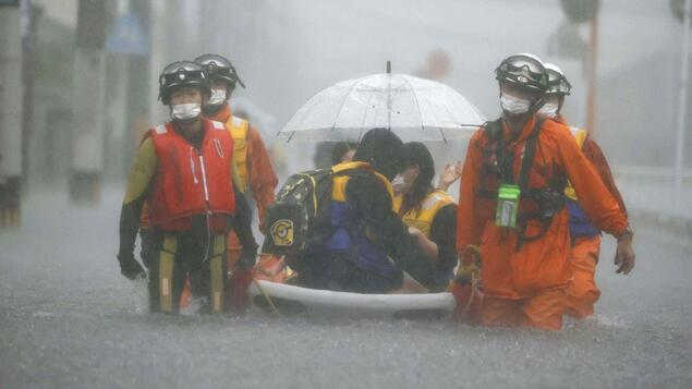 At least four people are missing: many die after heavy rains in Japan - community