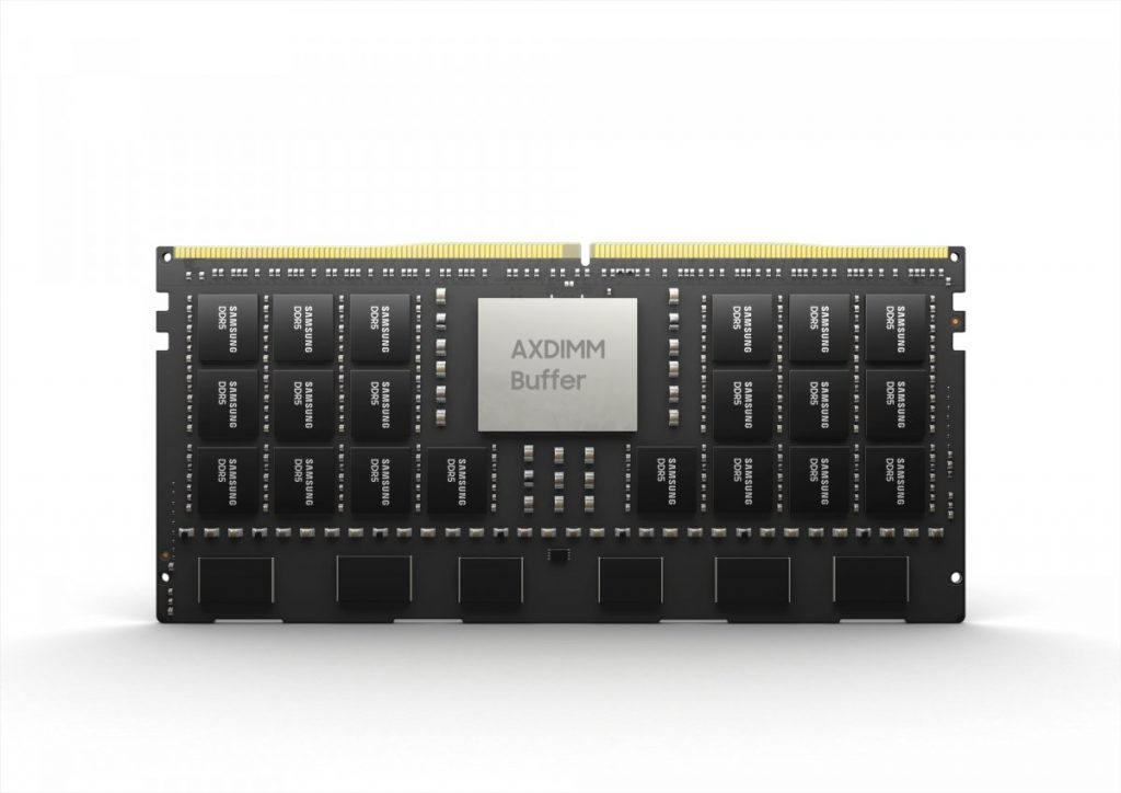 DDR5 AXDIMMs: Samsung builds large memory volumes with computing power