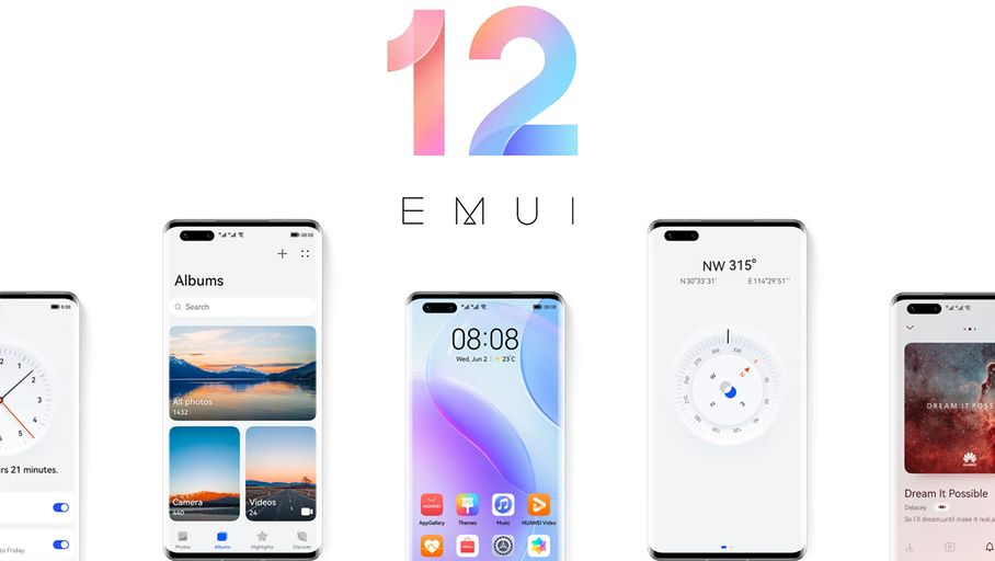 EMUI 12: Huawei cleverly updates its software interface
