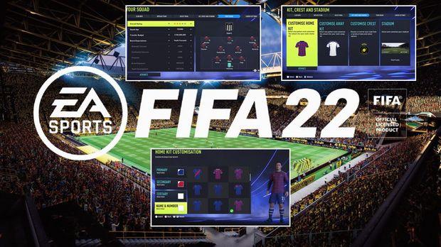 FIFA 22: Create a club, new leagues