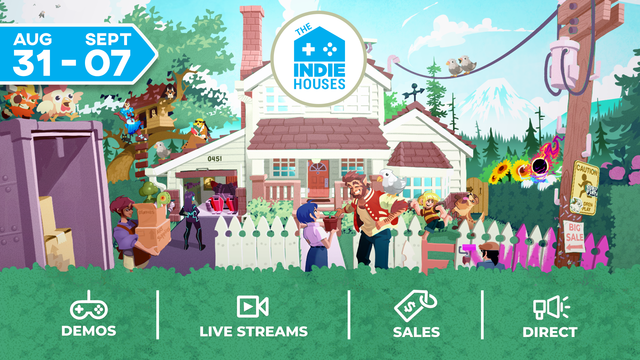 Indy Homes live show tonight at 7pm Nintendo Connect