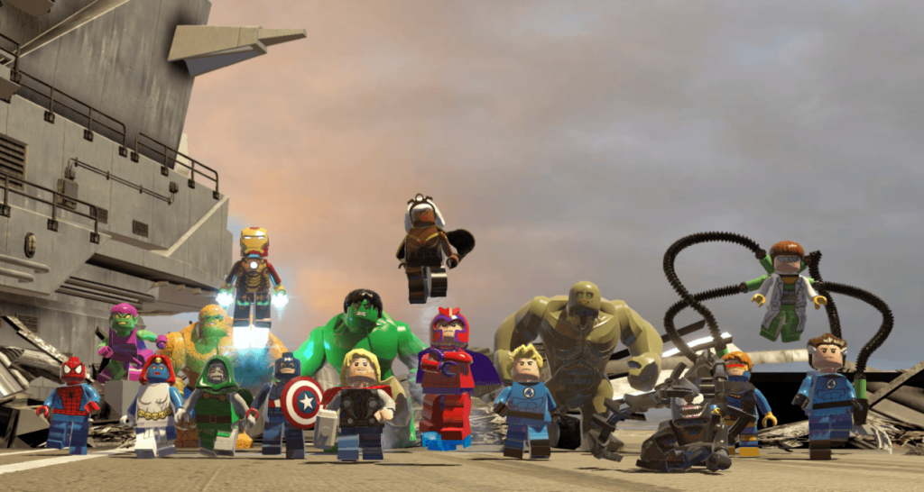 Lego Marvel Superheroes Coming to Nintendo Switch Nintendo Connect