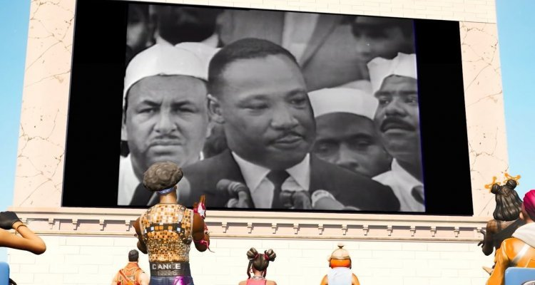 Martin Luther King - Epic game disables feelings of disrespect at an event dedicated to Nerd4.life