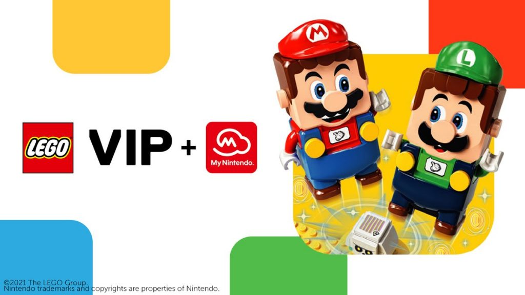 My Nintendo and Lego VIP work together Nintendo Connect