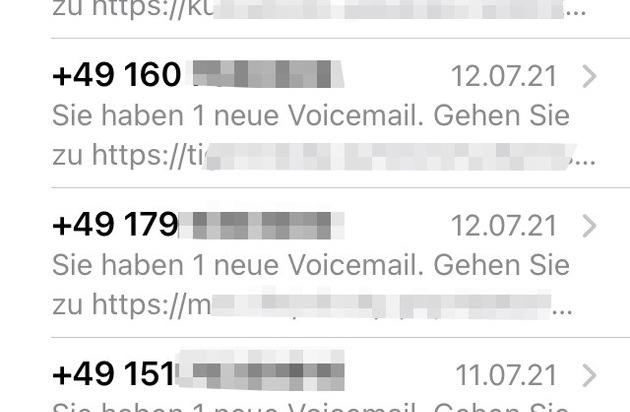 OL POL-MK: Beware: Voicemail Fraudsters!     Press the portal