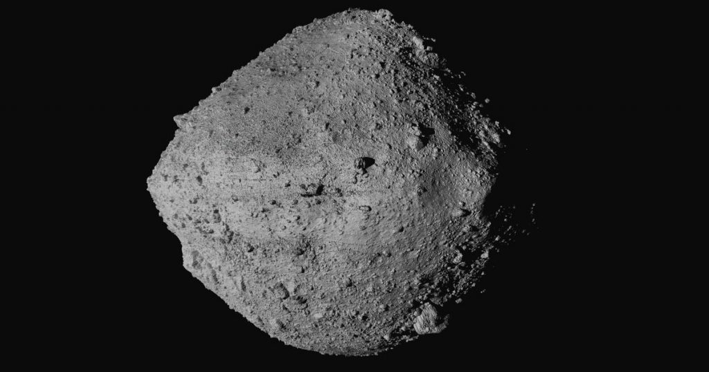 """Pennu, asteroid with a 0.057% """"chance"""" of hitting Earth - rts.ch"""