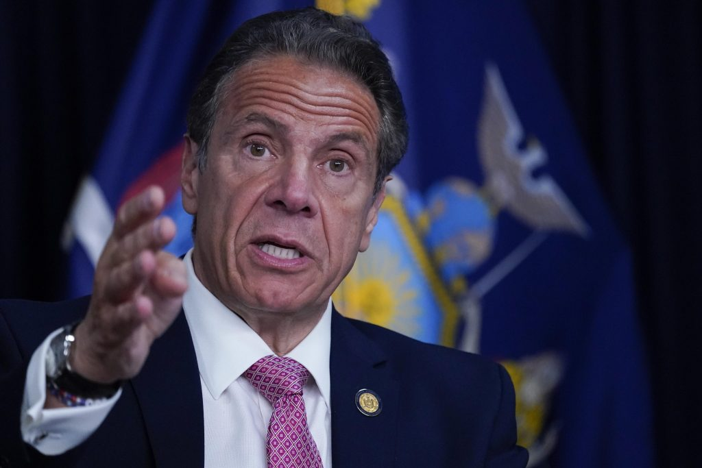 """Pitton's sentence on sexual harassment, Andrew Cuomo: """"He must resign.""""  Nancy Pelosi downloads it too"""
